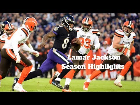 Lamar Jackson Rookie Season Highlights l 2018 - 2019 Season