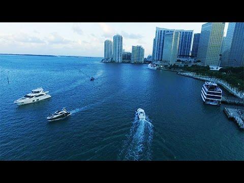 Miami Downtown Bayfront Park  DJI Drone Video