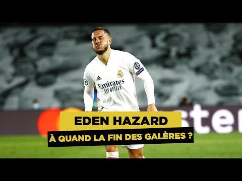 Retour sur les 8 blessures d'Eden Hazard avec le Real Madrid !