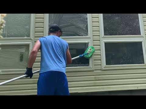 The Mr. Mister Housewashing Process