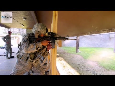 Air National Guard Train on the M4 Carbine