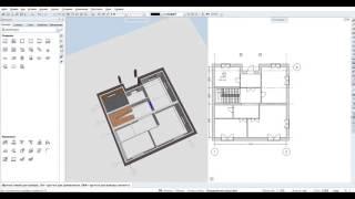 Видео урок по программе Allplan 2015 (5 Помещения и их отделка)