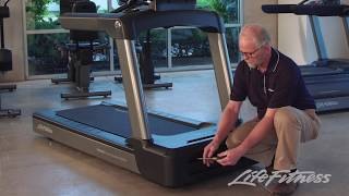 Life Fitness Integrity Treadmill Service Video