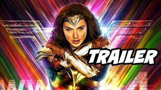 Wonder Woman 1984 Trailer Teaser - Crisis On Infinite Earths Trailer Breakdown