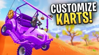 *NEW LEAK* CUSTOM GOLF CART SKINS COMING SEASON 5! - Fortnite: Battle Royale