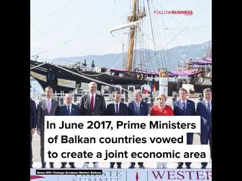 "ALBANIA - Regional Economic Area for Balkan Countries. ""Berlin Process"""