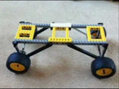 Lego Suspension Car Chassis With Instructions No Music Youtube