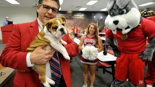 Fresno State's New Mascot Victor E. Bulldog Iii Is Introduced
