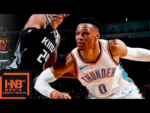 Oklahoma City Thunder vs Sacramento Kings Full Game Highlights | Feb 23, 2018-19 NBA Season