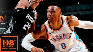Oklahoma City Thunder vs Sacramento Kings Full Game Highlights   Feb 23, 2018-19 NBA Season