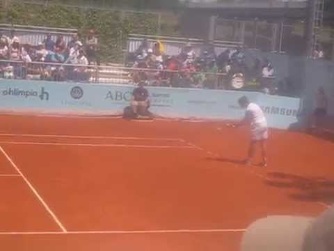 Bellucci vs Sijsling Madrid open 2014 last game