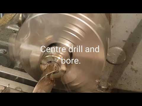 Making Swedish wrap coin ring dies