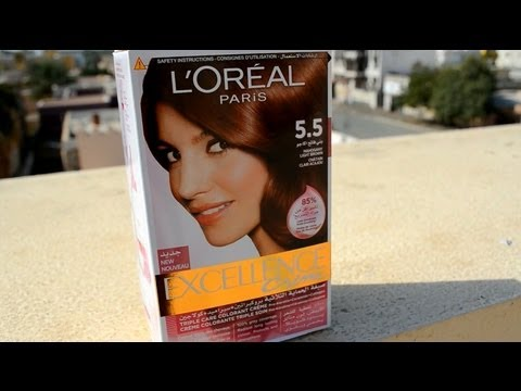 L Oreal Paris Excellence Creme 5 5 Mahogany Light Brown
