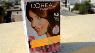 L Oreal Paris Excellence Creme (5.5 Mahogany Light Brown) l LittleMsEms