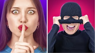 HOME ALONE CHALLENGE || Self-Defence Pranks, Home Alone Tricks And Funny Situations by 123 GO!
