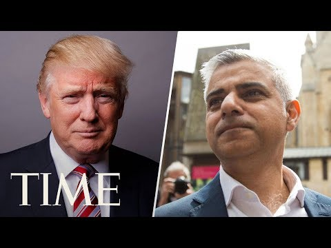 President Donald Trump Vs. London Mayor Sadiq Khan | TIME