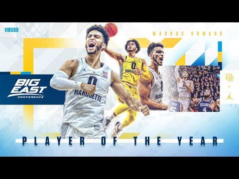 Marquette Courtside - Markus Howard Named BIG EAST Player of the Year