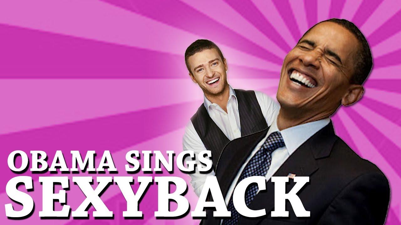 Obama sexy back