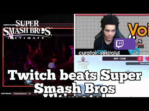 Daily SSB Ultimate Highlights: Twitch beats Super Smash Bros Ultimate! thumbnail