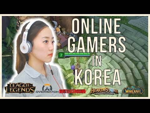 Types of Online Gamers in Korea