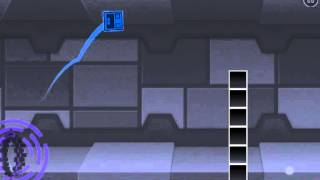 A Violet and Blue Portal ? New vehicles ? -  Geometry dash 2.01