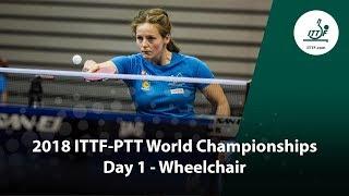 ITTF Para World Championships | Day 1 (Wheelchair)...