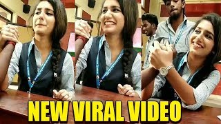 Priya Prakash Varrier FIST FIGHTING Video goes Viral | Wink Actress New Video