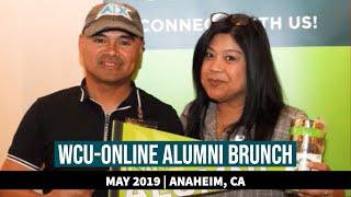 WCU Alumni Network Hosts Second Annual Brunch for Online Grads