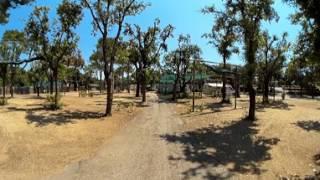 Video 360 del Camper al Camping Village Settebello di Salto di Fondi, Latina, nel Lazio