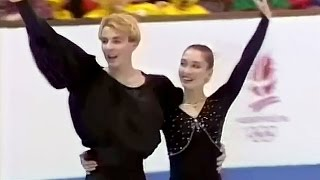 Maya Usova and Alexander Zhulin - 1992 Albertville Olympics Exhibition -