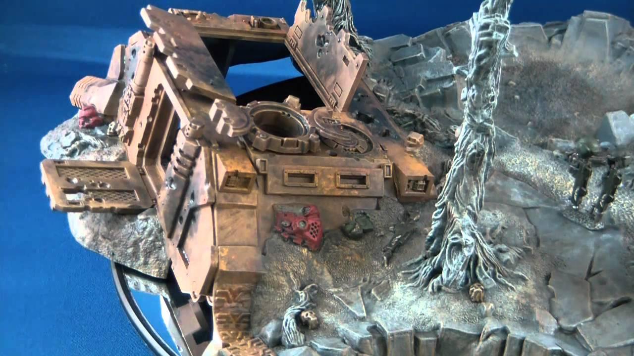 Warhammer 40k Battlescape Scenery 1 Youtube