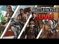 ⚡BATTLEFRONT 2 LIVE: Heroes Unleashed + MLG Sniping!