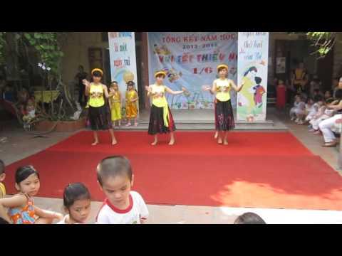 Bài múa Cây Đa Quán Dốc cho giáo viên mầm non tham khảo