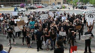 Black Lives Matter rally in Syracuse NY