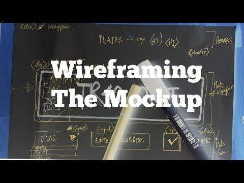 Web Design: HTML Wire-framing Mockup (EP 2)