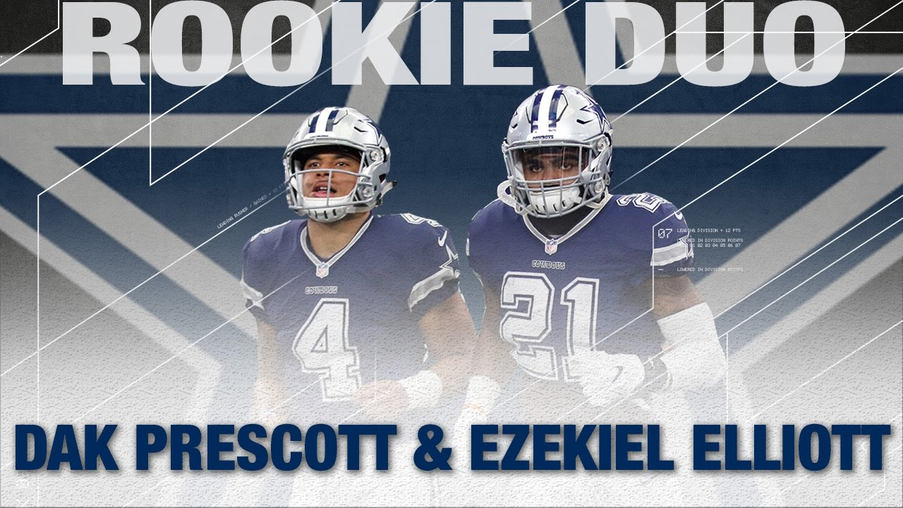 0786929e80e25 Dak Prescott   Ezekiel Elliott  Top 5 Moments of The 2016 Cowboys Season
