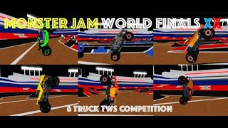 Roblox Monster Jam WF20 TWS Competition! (6 Trucks!)