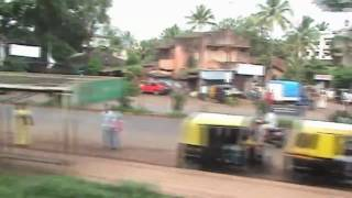 (HD) Departing from Belgaum - Sharavati Exp. (Aug. 1, 2007)