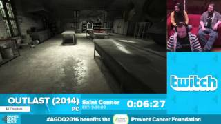 Outlast by Saint Connor in 20:39 - Awesome Games Done Quick 2016 - Part 62 [1440p]