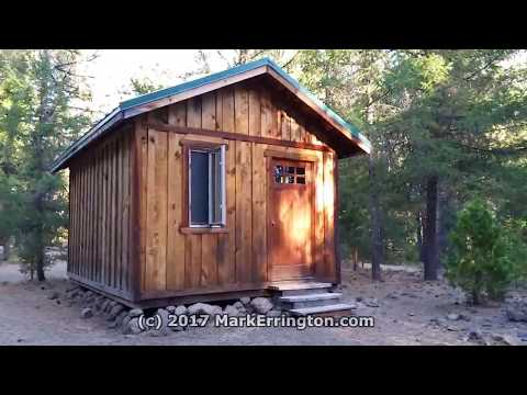 New Frontier Ranch, Ashland, OR: Outback Campsite Tour