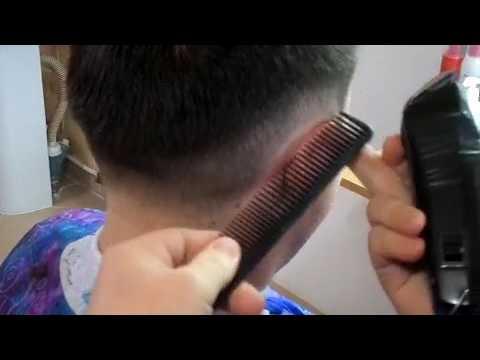 Мужская стрижка полубокс - техника выполнения стрижки