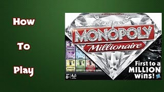 How To Play Monopoly Millionaire Board Game