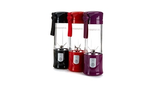 TravelBlend Portable Blender with Charging Adapter