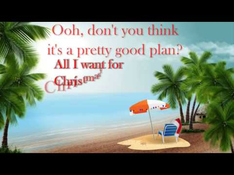 All I Want For Christmas Is A Real Good Tan [Lyrics - HD] - Kenny Chesney