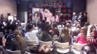 Selena Gomez Conference in Madrid, Spain (03/30/10)