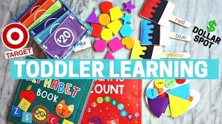 TARGET $ Dollar Spot 2 YEAR OLD LEARNING ACTIVITIES - For Toddlers & Preschool!!!