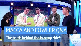 Liverpool legends Steve McManaman and Robbie Fowler answered your questions on #SaturdaySav