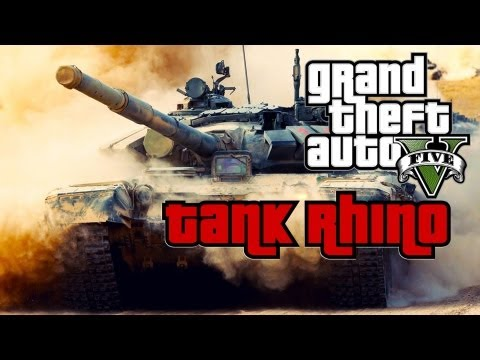 GTA V - How To Steal a Tank (GTA 5)
