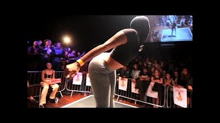 Pop & Jiggle Round - UK Twerking Championships 2014