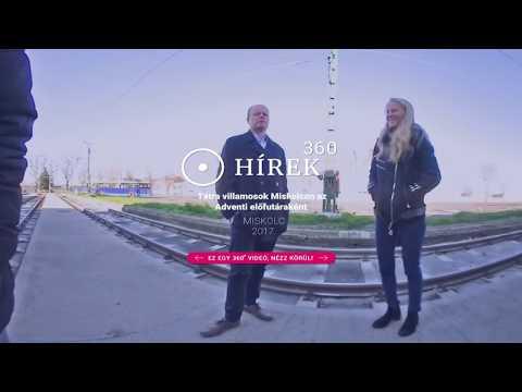 Tátra villamosok Miskolcon az Adventi előfutáraként - hirek360.hu